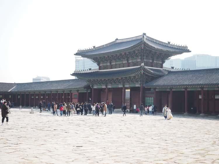Geunjeongmun Gate in Gyeongbokgung Palace