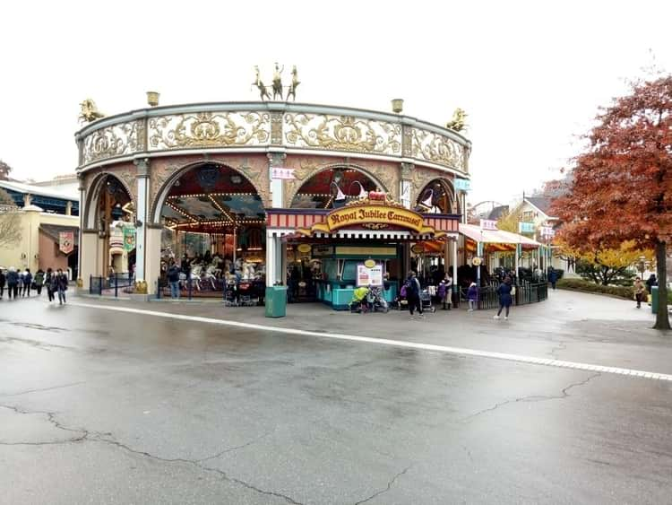 Royal Jubilee Carousel at Everland