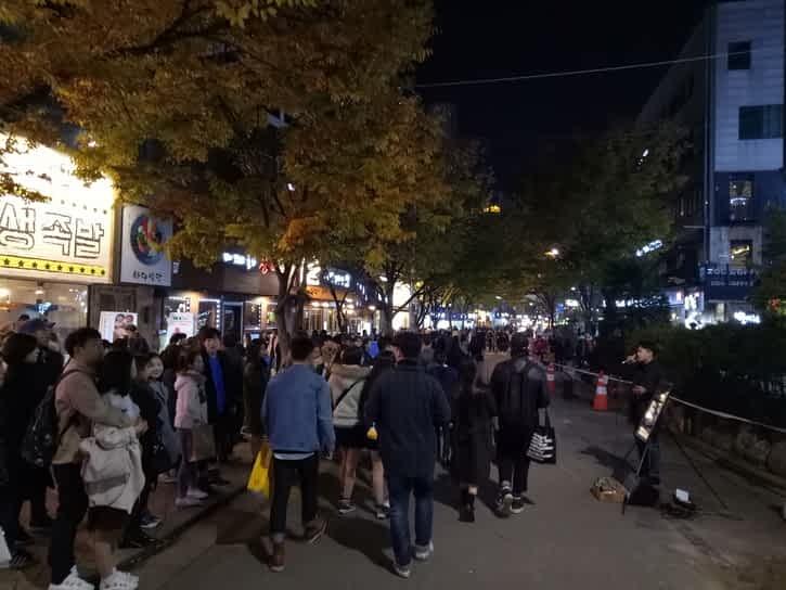 Hongdae Alley