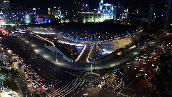 How To Go To Dongdaemun Design Plaza in Seoul
