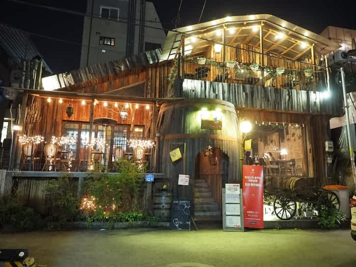 Wine Bar in Hongdae