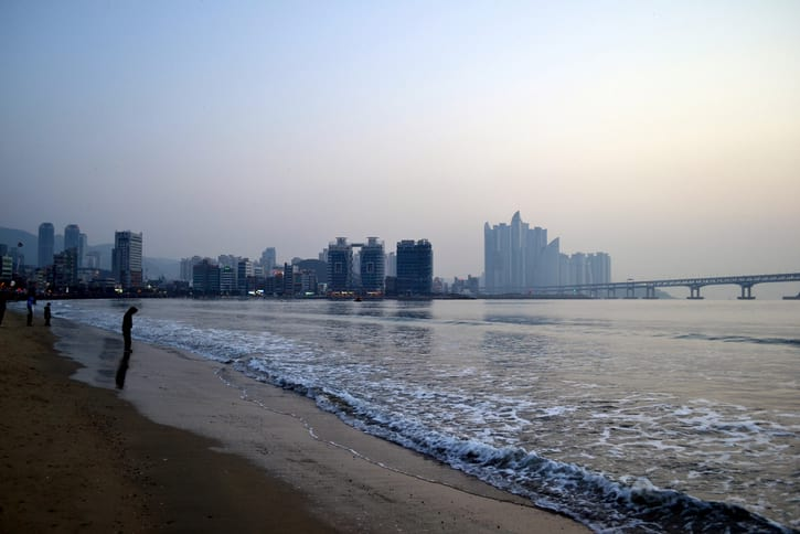 Gwangalli Beach Sunrise