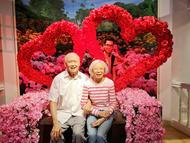 Lee Kuan Yew Wax Statue at Madame Tussauds Singapore