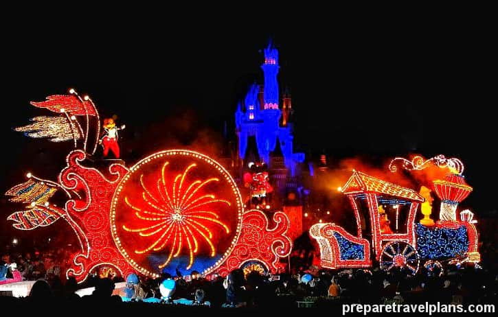 Casey Junior Train with Mickey Mouse and Goofy Tokyo Disneyland Electrical Parade Dreamlights