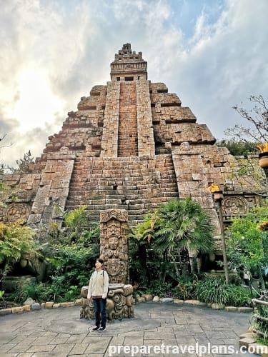 Indiana Jones Adventure Ride at Tokyo DisneySea