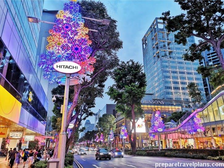 Orchard Road Christmas Season