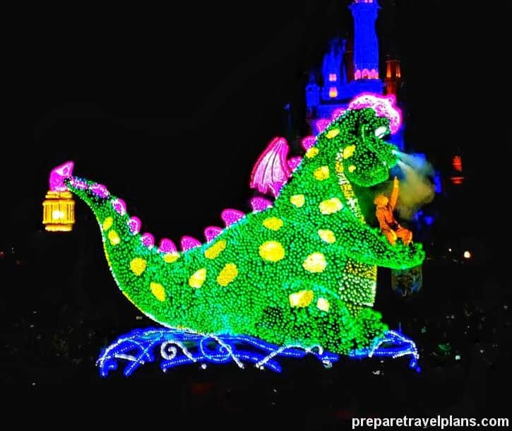 Pete's Dragon Tokyo Disneyland Electrical Parade Dreamlights