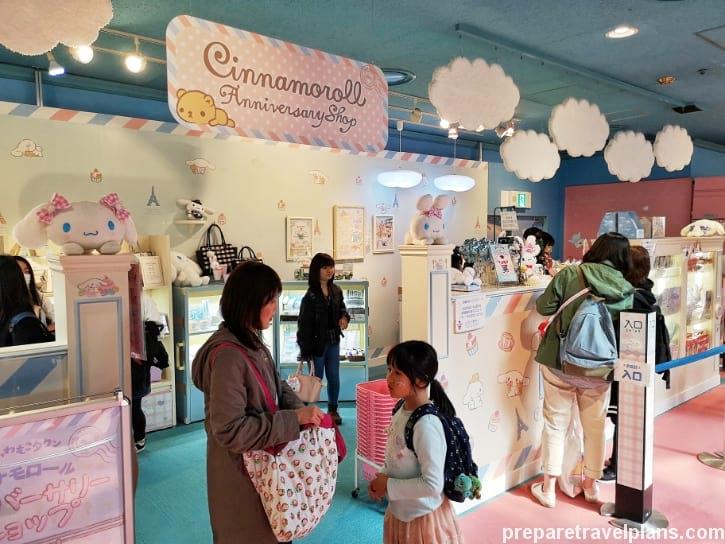 Cinnamoroll Anniversary Shop