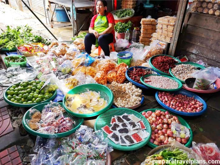 Dried Foods Stall