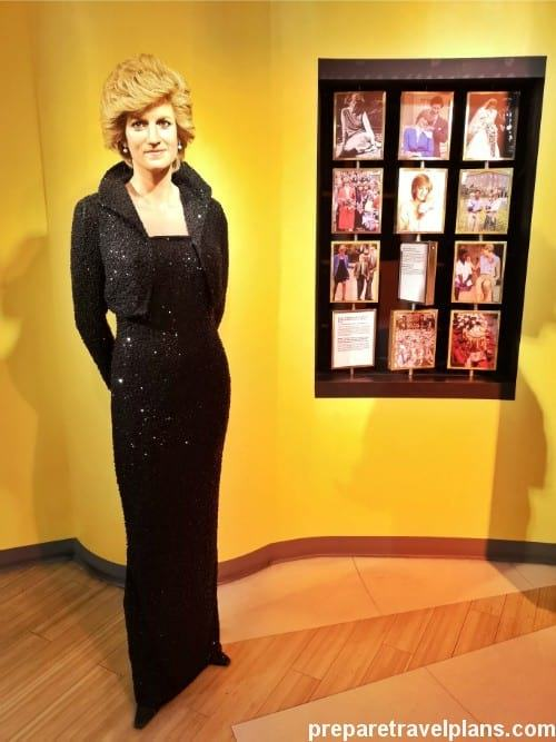 Diana Wax Figure