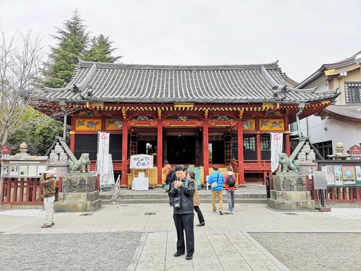 Main Hall of Asakusa Jinja Shrine
