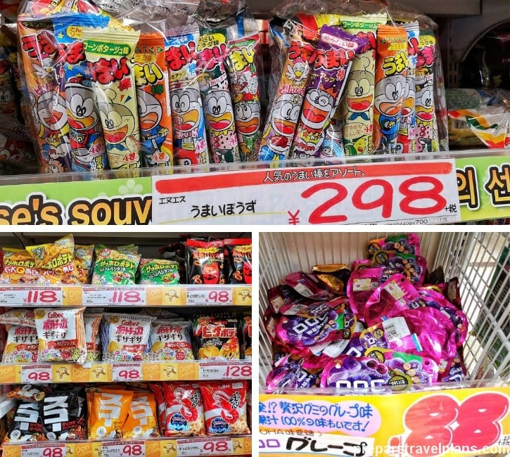 Umaibo Cylinder Snack, Kokoro Gummy Candy and Other Snacks