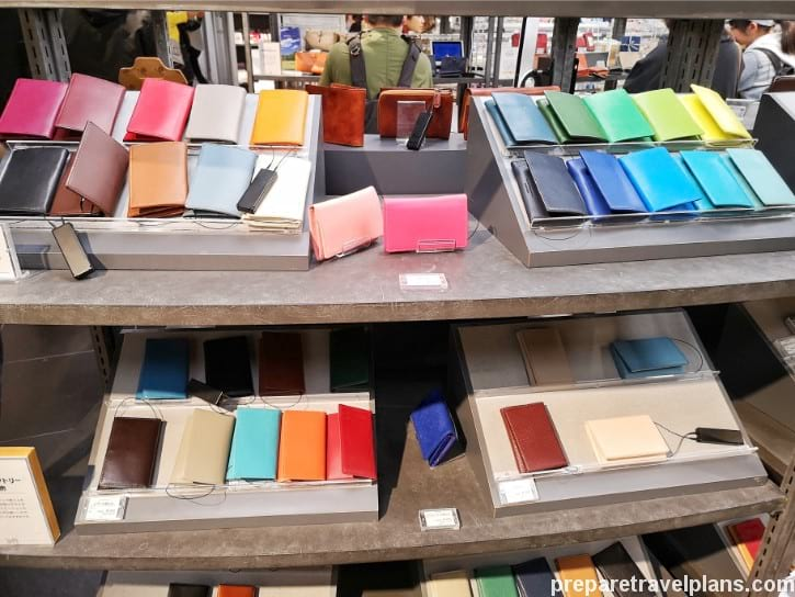 Colourful Wallet at Shibuya Loft