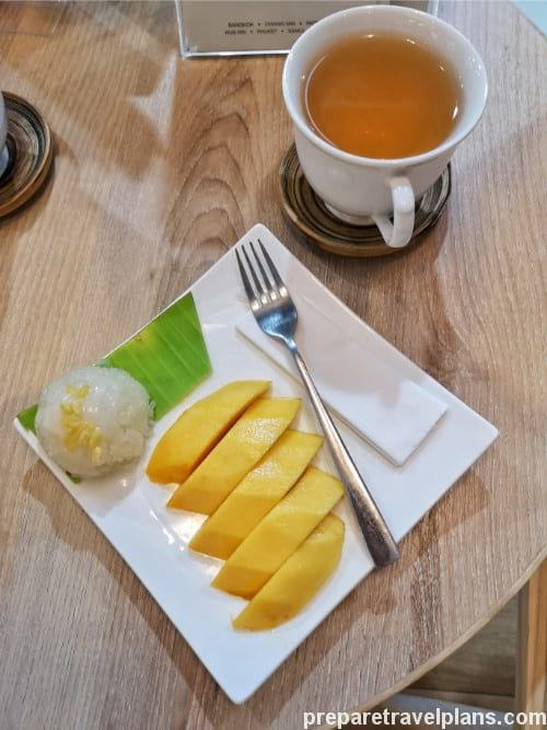 Mango Sticky Rice Lets Relax Spa