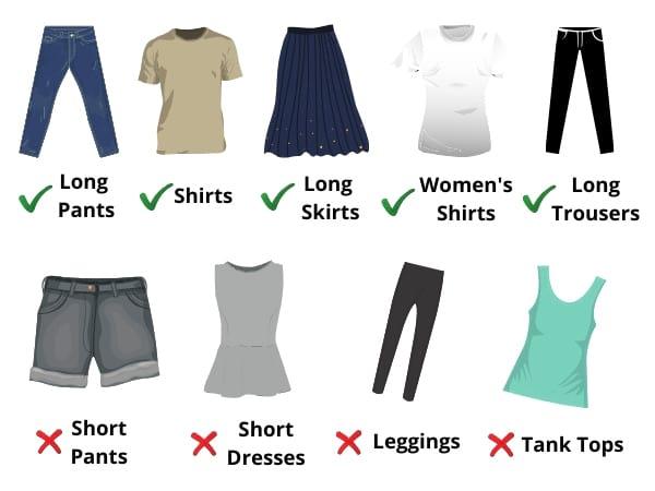Wat Pho Dress Code