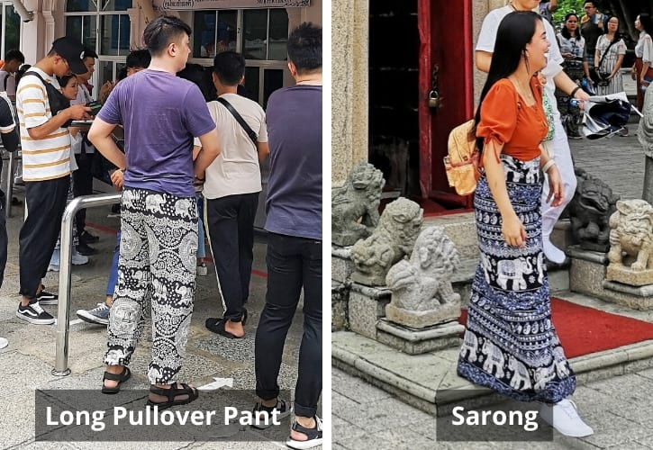 Long Pullover Pant and Sarong