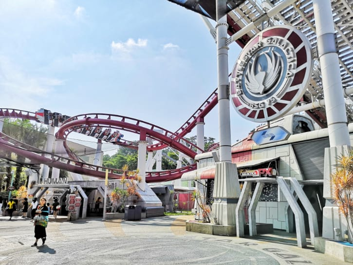 Battlestar Galactica: HUMAN vs. CYLON, top attraction at Universal Studios Singapore