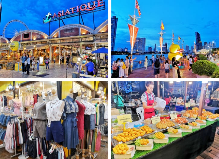 Asiatique The Riverfront, One of Bangkok's most visited night markets