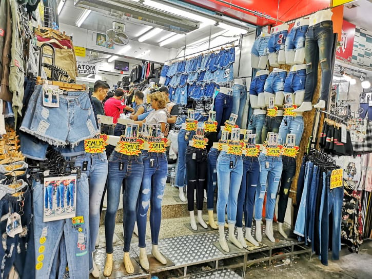 A Huge Collection of Denim Clothing